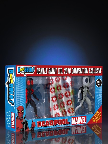 Gentle Giant Marvel Deadpool Secret Wars Micro Bobble 3 Pack